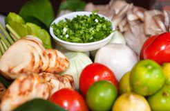 Fresh fruit and vegetables Stock Photo
