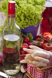 Fresh fruit and vegetables Royalty Free Stock Image