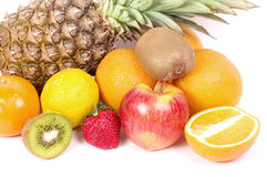 Fresh fruit with vitamin Stock Photography