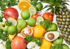 Fresh fruits royalty free stock images