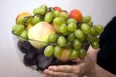 Fresh fruits. Fresh fruit on a table stock photos