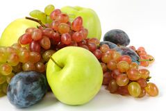 Fresh fruits. Colorful fresh fruits for healsy life. Closeup Royalty Free Stock Photo