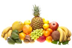 Fresh fruits Stock Photos