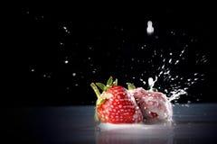 Fresh fruits Stock Photos
