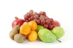 Fresh fruits. Isolated on white background Royalty Free Stock Image