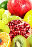 Fresh fruits. With lot of vitamins royalty free stock image