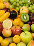 Fresh Fruits. Healthy Eating series: Fruits assortment Stock Image