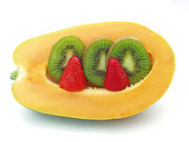 Fresh fruits. Original and fresh fruits royalty free stock photos