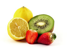 Fresh Fruits. Rich in vitamins stock photography