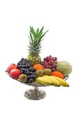 Fresh Fruits. Isolated over white Royalty Free Stock Photography
