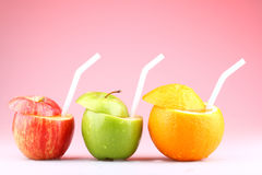 Fresh fruits. These are some fresh fruits stock photo