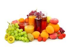 Free Fresh Fruits And Juice Stock Photo - 15008890