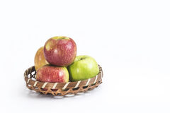 Fresh fruits apple stock photos