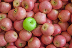 Fresh fruits, apples Stock Photo