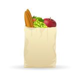 Fresh fruits in bag Royalty Free Stock Photo