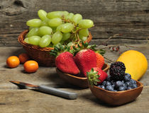Fresh Fruits And Berries Royalty Free Stock Photos