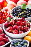Fresh fruits and berries Stock Photo