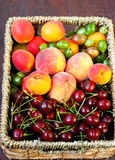 Fresh fruits and berries Royalty Free Stock Photography