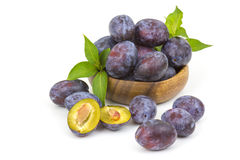 Fresh fruits in a bowl Stock Photo