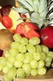 Fresh fruits at breakfast Royalty Free Stock Image