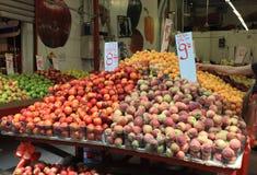 Fresh Fruits in the Carmel Market, Tel Aviv Stock Image