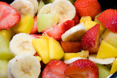 Fresh fruits in closeup Stock Photography