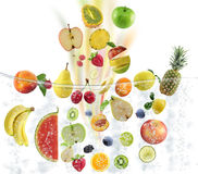 Fresh Fruits Consept Royalty Free Stock Photo