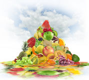 Fresh Fruits Consept Stock Photo
