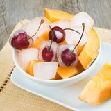 Fresh fruits frozen Royalty Free Stock Photo