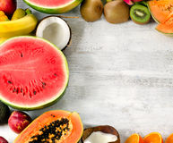 Fresh fruits. stock photography