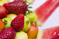 Fresh Fruits II Stock Images