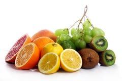 Fresh fruits isolated Royalty Free Stock Image