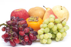 Fresh fruits isolated. Royalty Free Stock Images
