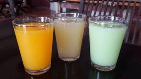 Fresh fruits juice Royalty Free Stock Photo