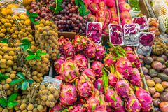 Fresh fruits Thailand. Royalty Free Stock Images