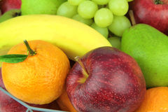Fresh fruits. Macro image Royalty Free Stock Photography