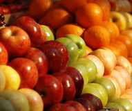 Fresh fruits at the market Stock Photo