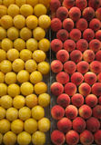 Fresh fruits at the market Royalty Free Stock Images