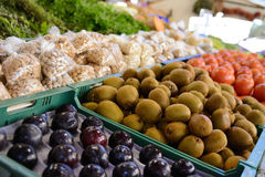 Fresh fruits on the market Royalty Free Stock Images