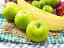 Fresh fruits mixed fruits background healthy eating dieting love fruit Stock Photo