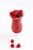 Fresh fruits and natural juice, glass of ice cubes Royalty Free Stock Photo