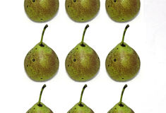 Fresh fruits pears Stock Photos