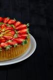 Fresh Fruits Pie Stock Image