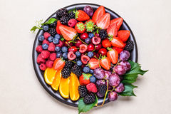 Fresh fruits. Royalty Free Stock Photography