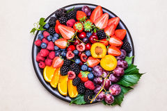 Fresh fruits. Royalty Free Stock Photo