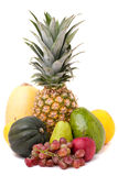 Fresh Fruits and Produce Stock Photo
