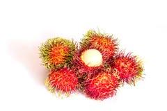 Fresh fruits rambutan Royalty Free Stock Photo
