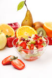 Fresh fruits salad Royalty Free Stock Photography