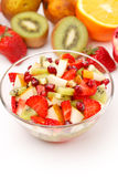 Fresh fruits salad Stock Images