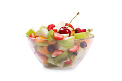 Fresh fruits salad Royalty Free Stock Images